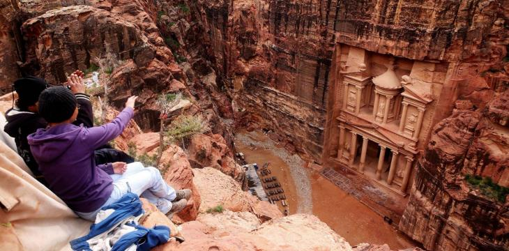 In Jordan's Ancient Petra, Sirens Warn of Flash Floods