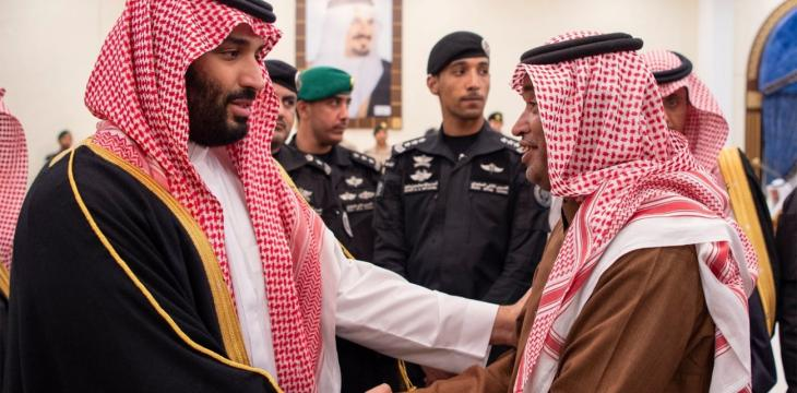 Crown Prince Meets in Tabuk Families of Martyred Soldiers