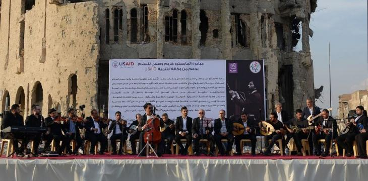 After Years of Silence, Music Fills Streets of Iraq's Mosul