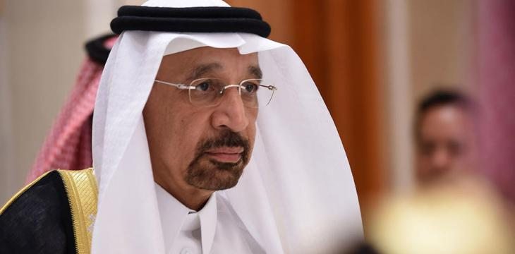 Falih to US Energy Secretary: Saudi Arabia Keen on Oil Prices Stability