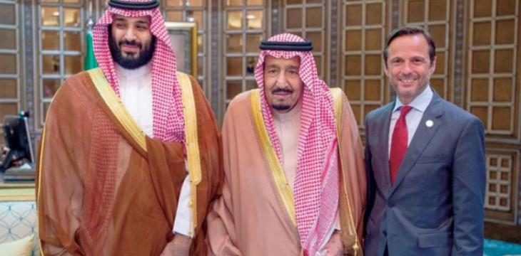 King Salman Briefed on Progress of Red Sea Mega Project