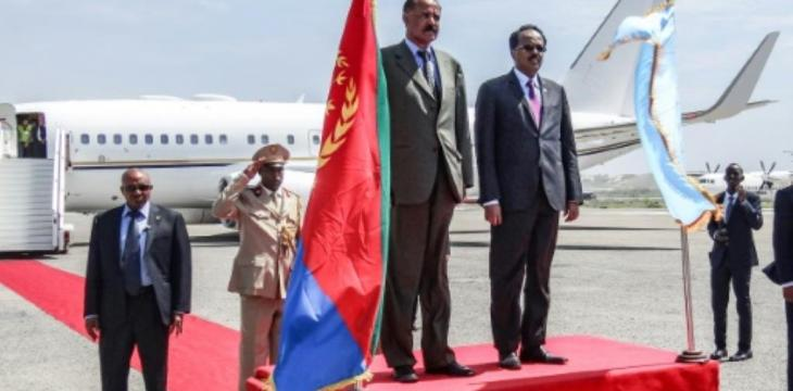 Eritrean Leader in First Visit to Somalia After Thaw