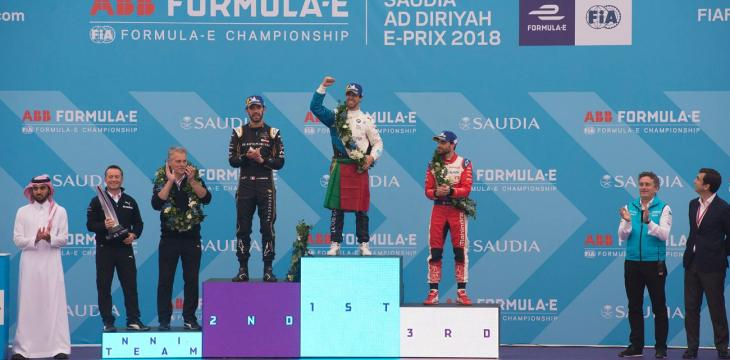 Portugal's Da Costa Wins Formula E Season Opener Hosted by Saudi Arabia