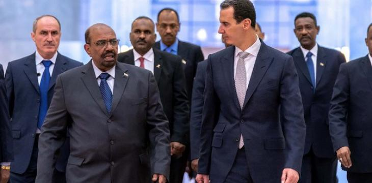 Sudan's Bashir Secretly Visits Damascus to Revive Ties