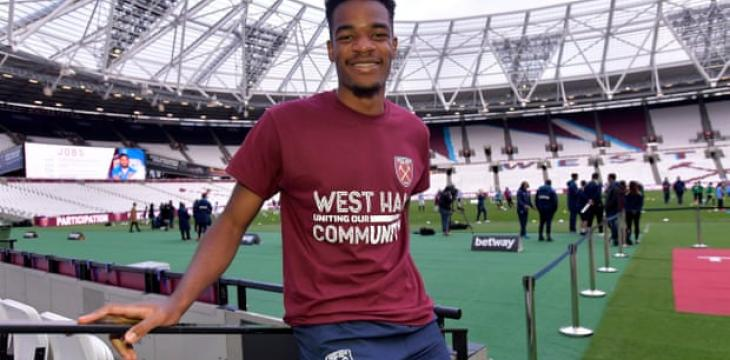 West Ham's Grady Diangana: 'I Feel I Can Go out There and Express Myself'