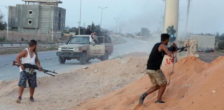 Militia Fighting Erupts in Libyan Capital