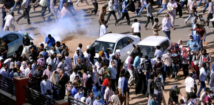 Protests Resurge in Khartoum, Moscow Denies Reports on Russian Mercenaries