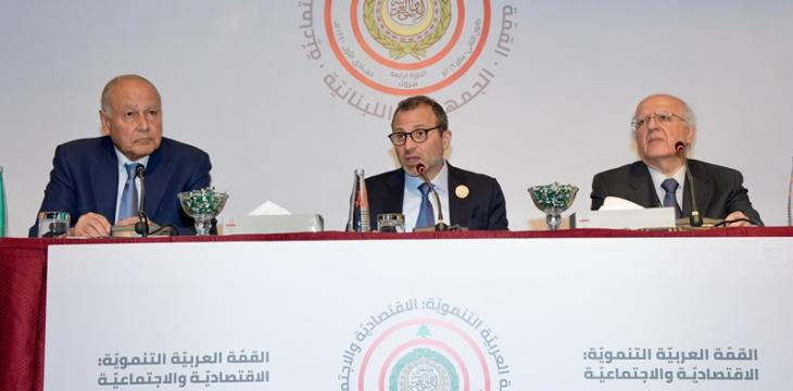 At Arab Summit, Lebanese FM Calls for Restoring Syria Membership