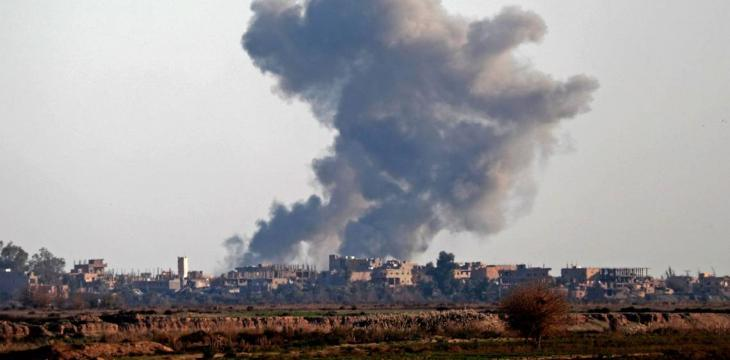 Six Civilians Dead in US-Led Strike on ISIS in Syria: Monitor