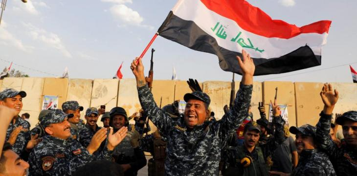 Iraq to Gradually Transfer Local Security from Army Hold to Police