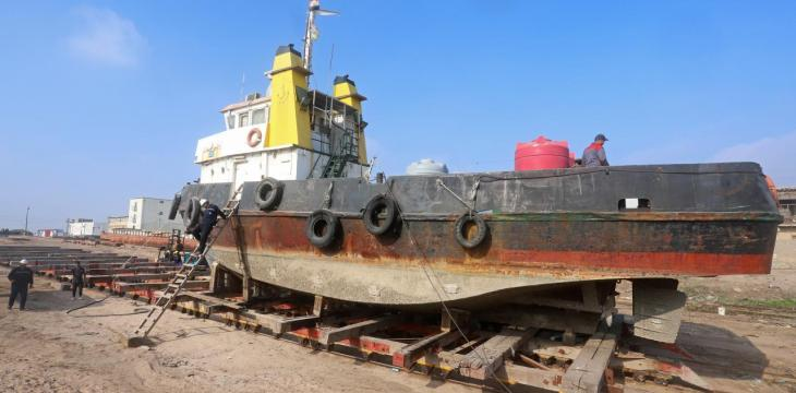 A Century on, Basra's British-Era Shipyard Going Strong