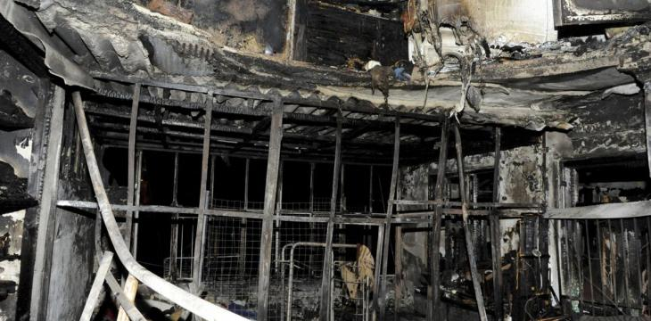 Damascus Apartment Fire Kills 7 Siblings