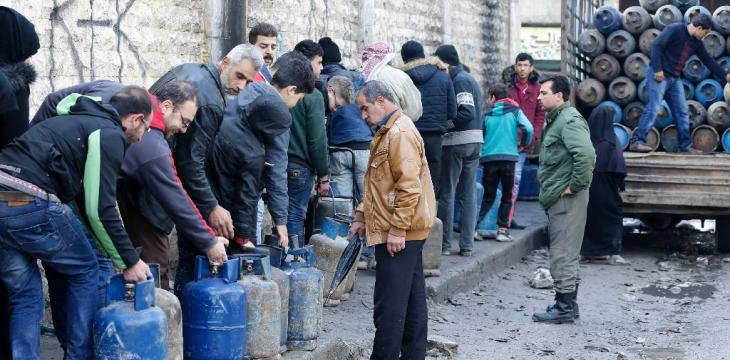 In Syria's Aleppo, Gas Shortages Add to Daily Woes