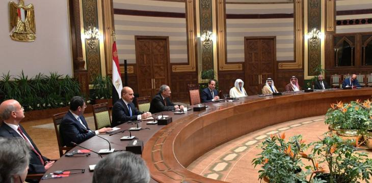 Egypt President, Saudi Attorney General Discuss Counter-Terrorism Efforts
