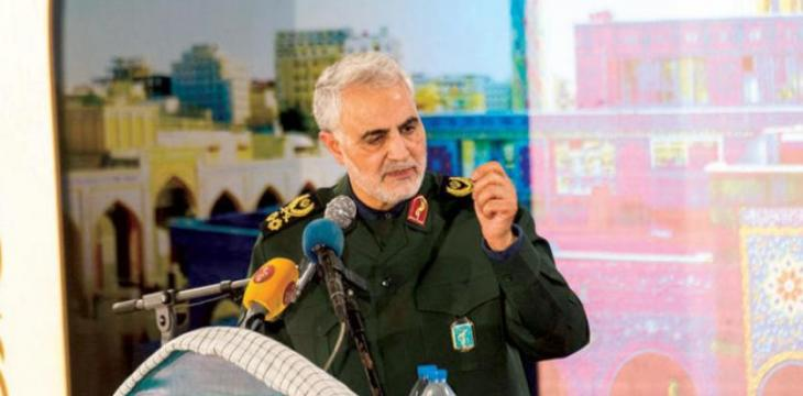 Revolutionary Guard Foreign Arm Commander Rejects Negotiating Iran's Regional Role