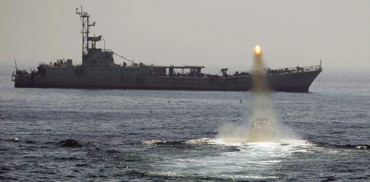 Iran Launches Navy Drill