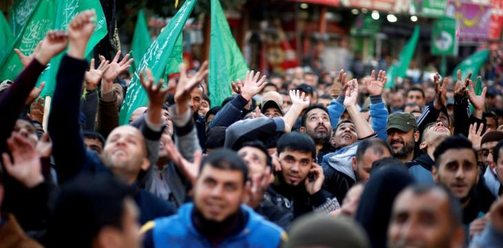 Rare Protests Erupt against Hamas' 12-Year Rule over Gaza