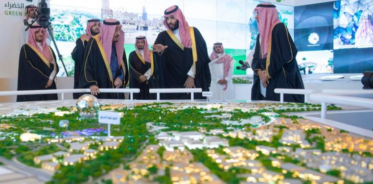 King Salman Launches $23 Bln Wellbeing Projects in Riyadh