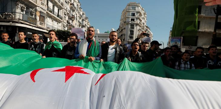 New Algerian Opposition Group Urges Army against Interfering in Protests