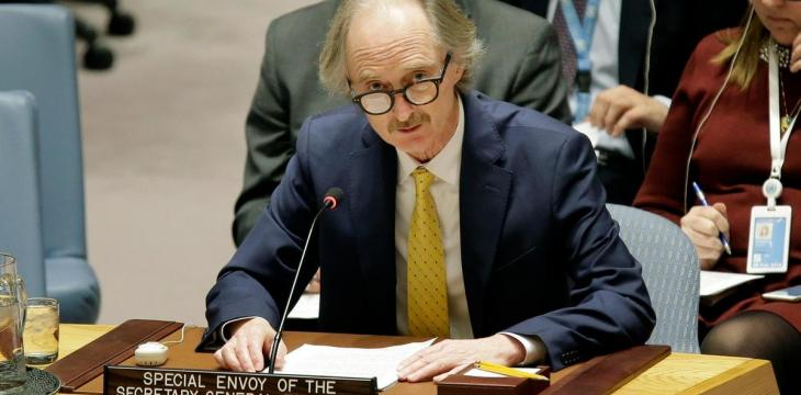 UN Envoy Discuss Detainee File with Syrian Opposition in Damascus