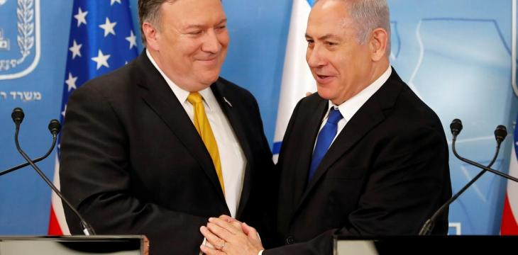 Trump to Host Netanyahu next Week as PM, Pompeo Warn of Iranian Aggression