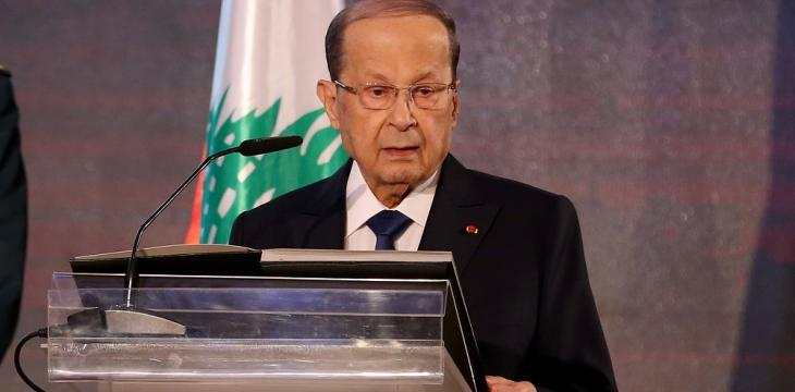 Aoun Says Refugees Crisis Most Difficult Challenge Imposed on Lebanon