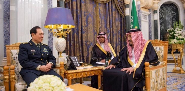 King Salman Receives Chinese Defense Minister in Riyadh