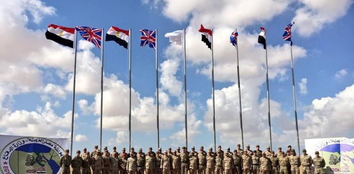 Egypt-UK Forces Carry Out Joint Military Training to Eliminate Terror Hotbed