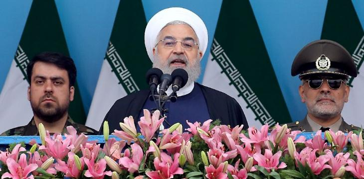 Rouhani Says Iranian Army Not a Threat to Region, Warns US
