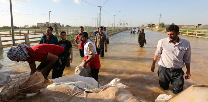 Iran Guards Reject Criticism of Foreign Militia Deployment in Flood-Hit Areas