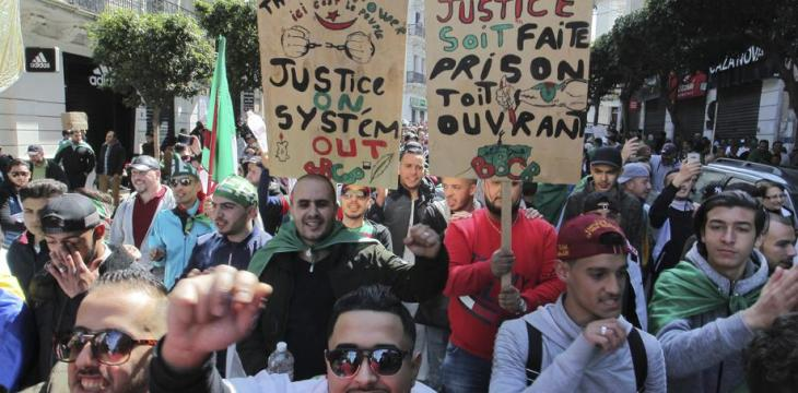 Wit and Grit: Algeria's Sizable Youth Lead Fight for Change