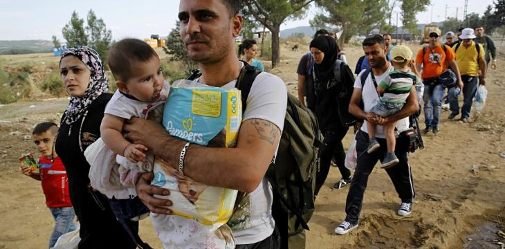 Syrians Make up 39 Percent of over 330,000 Refugees in Europe