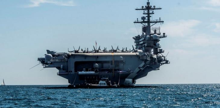 War Talk Grips Iraq as Storied US Carrier Returns to Gulf
