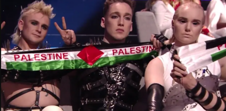 As Eurovision Ends, Israelis Cheer and Palestinians Protest