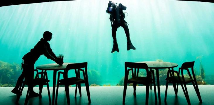 Norwegian Restaurant Allows People to eat Undersea