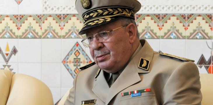 Algeria Army Chief Says Has 'No Political' Ambition