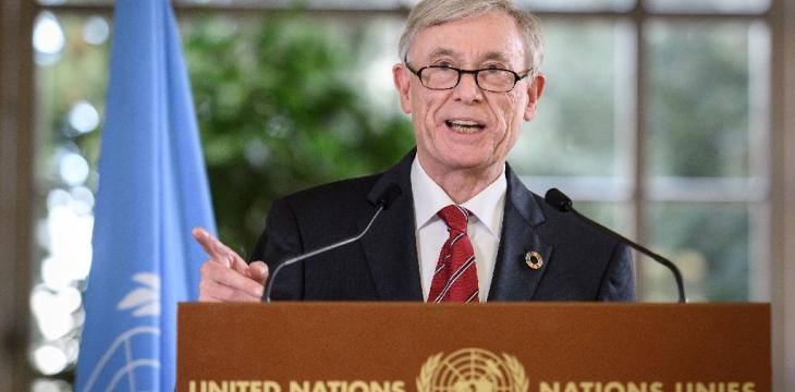 UN Envoy for Western Sahara Quits over Health Reasons