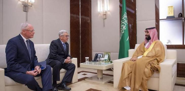 Crown Prince Meets US Special Representative for Syria Engagement