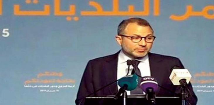Bassil: Return of Syrians to Their Homeland Is a Right, No Need Need for International Decision