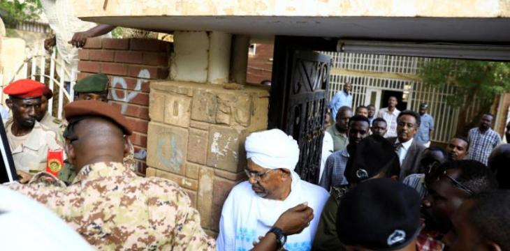 Bashir Appears in Public for 1st Time Since Ouster