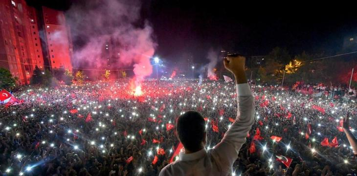 For Turkey's Erdogan, a Challenge in his Former Stronghold
