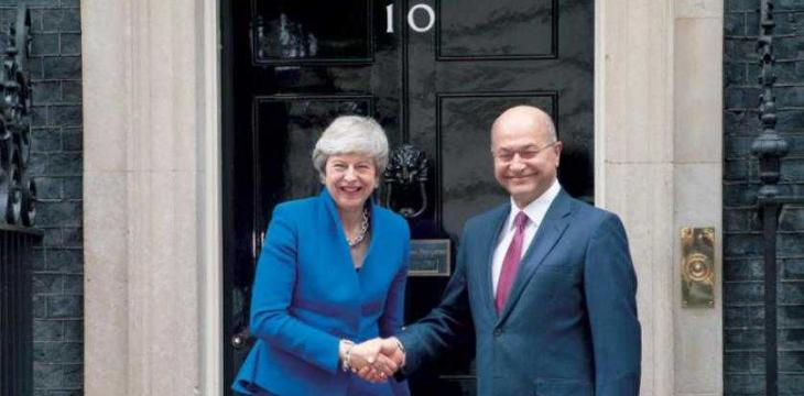 Iraqi President in Britain to Bolster Bilateral Relations