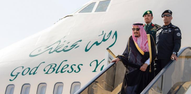 King Salman Travels to NEOM