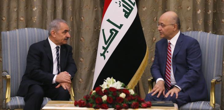 Palestinian PM Informs Iraqi President of PA's Plan to Disengage from Israel