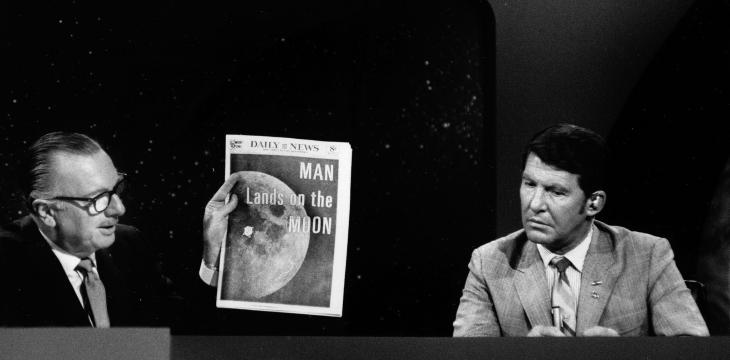 The Apollo 11 Mission Was Also a Global Media Sensation