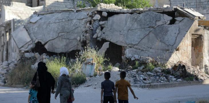 Syrian Regime Bombing of Opposition Stronghold Kills 11