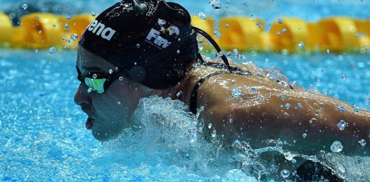 Syrian Refugee Swimmer Mardini Rising Fast after Fleeing War