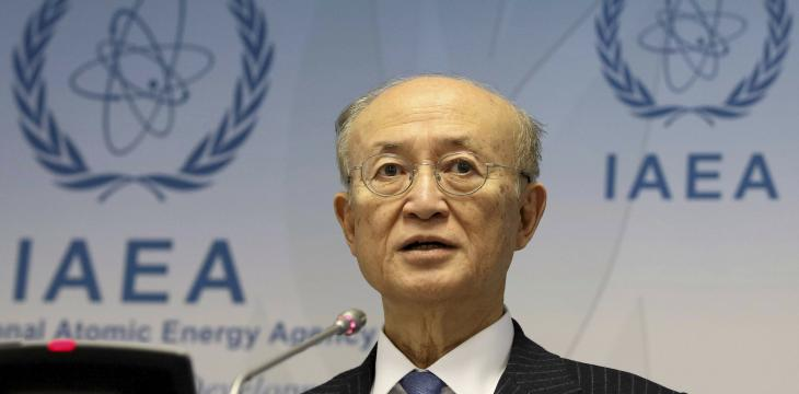 IAEA Says its 72-year-old Chief Has died
