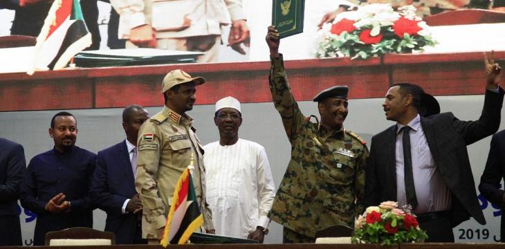 Arab Officials Hail to Asharq Al-Awsat Signing of Sudan Deal