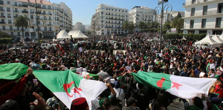 Algeria Protest Movement Marks Six Months, at an Impasse